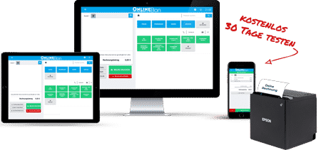 Registrierkasse am PC, Tablet oder Handy